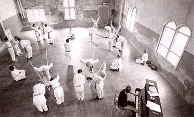 Workshop on Gurdjieff sacred dances for awareness: Here and
